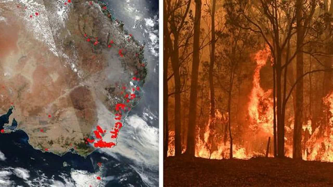 Australia fires- NASA warns that smoke from bushfires will travel around the world