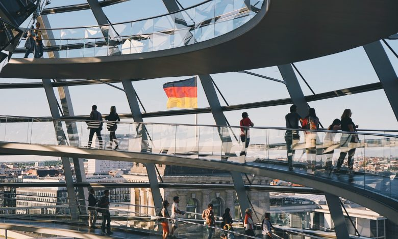 Germany's economy shrinks by 10 percent, the worst in their recorded history