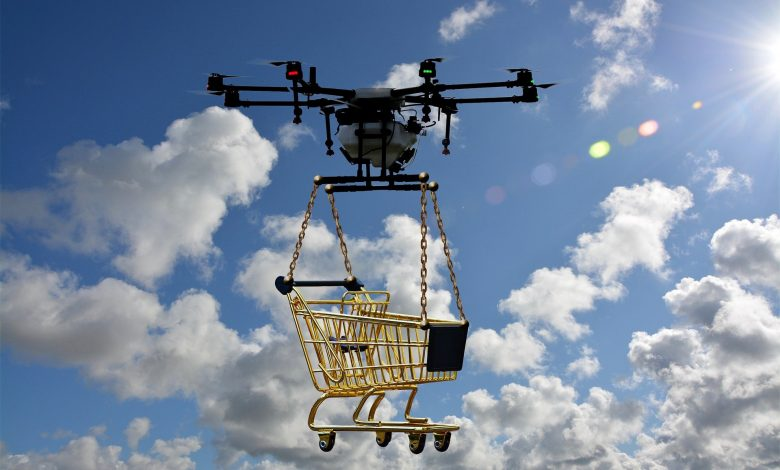 Walmart Tries Out Drone Delivery of Self-Administered COVID-19 Testing Kits
