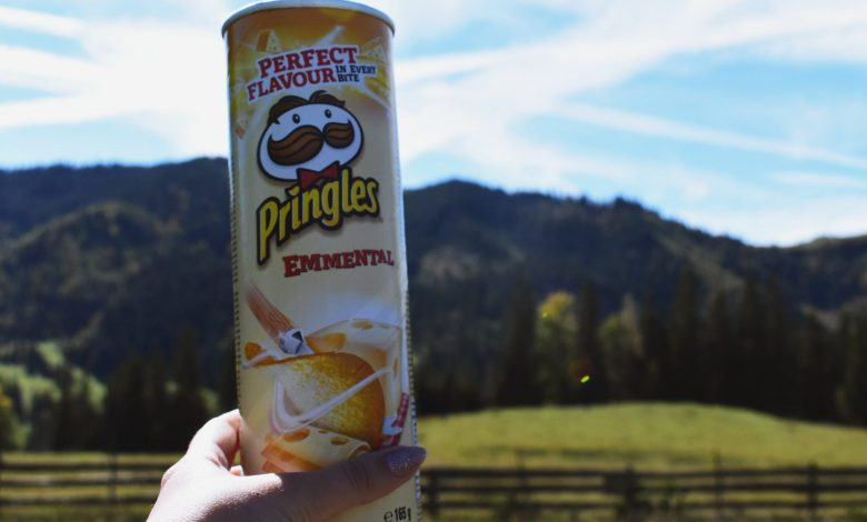 Pringles' New 'Recyclable' Can Design Debuts in Some UK Stores For a Trial