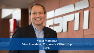Changemaker Interview: Kevin Martinez, VP, Corporate Citizenship, ESPN